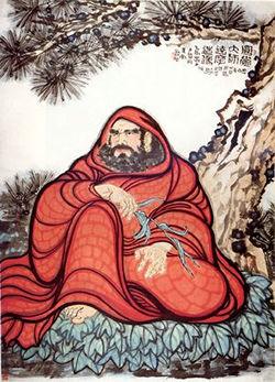 Bodhidharma celui qui a enseigné les arts martiaux aux moines de Shaolin. Bodhid10