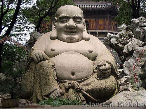 Bodhidharma celui qui a enseigné les arts martiaux aux moines de Shaolin. Bouddh10