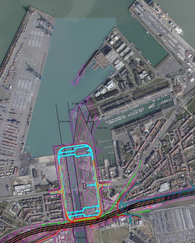 Une nouvelle écluse maritime à Zeebrugge....le retour Captur10