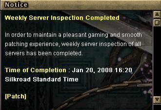 01.20 Silkroad Haftalık Bakım [20 Ocak 2009] 112
