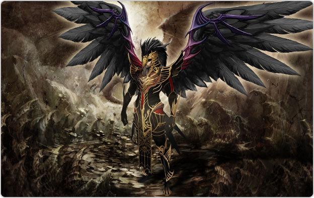 01.20  Black Angel Dress Male10