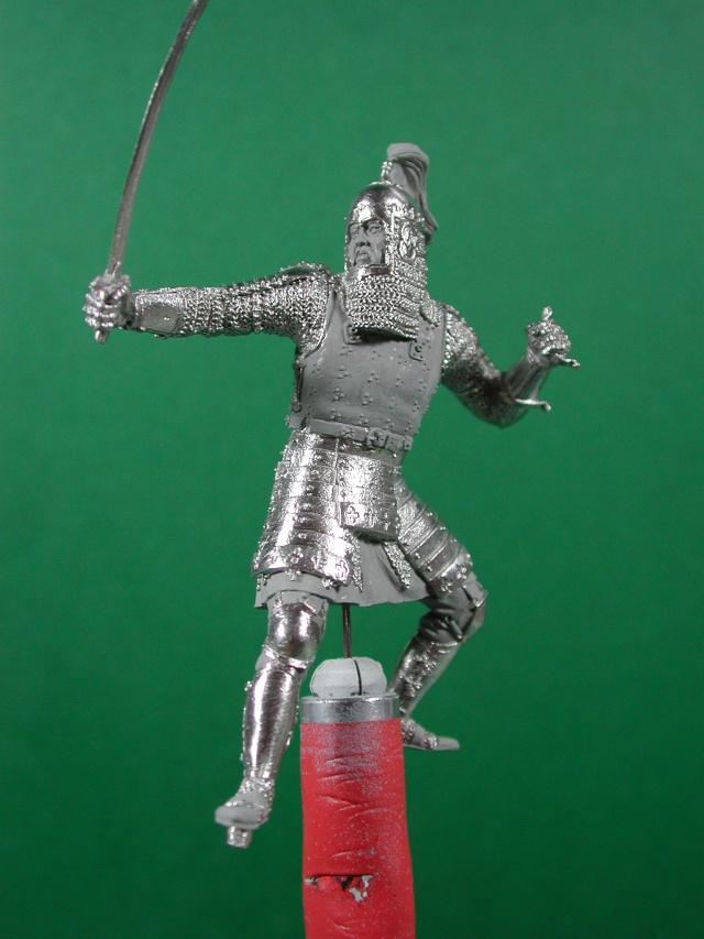 "Guerrier mongol 54mm de ""Elite"" 00213"
