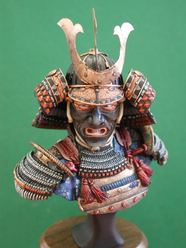 Buste de samuraï de chez Elite 01211