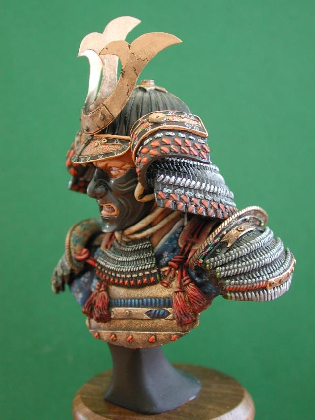Buste de samuraï de chez Elite 01411