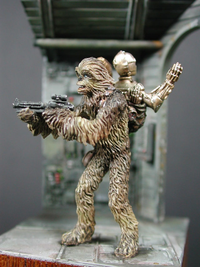 Chewbacca et C3PO de Knight Models 1816