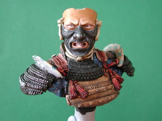 Buste de samuraï de chez Elite Buste_10
