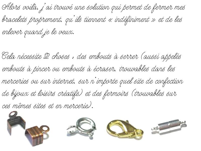 Méthodes esthétiques pour commencer/terminer vos bracelets Tuto_f10