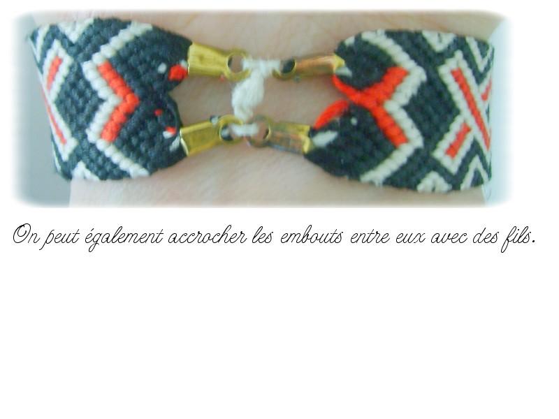 Méthodes esthétiques pour commencer/terminer vos bracelets Tuto_f13
