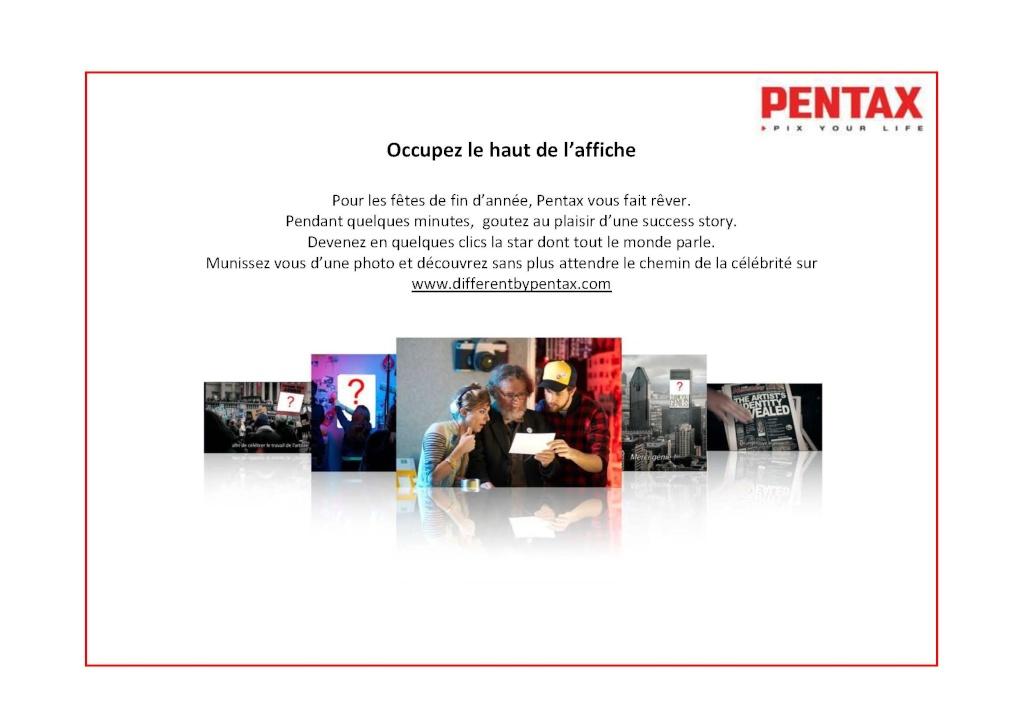 Pentax communique Occupe10