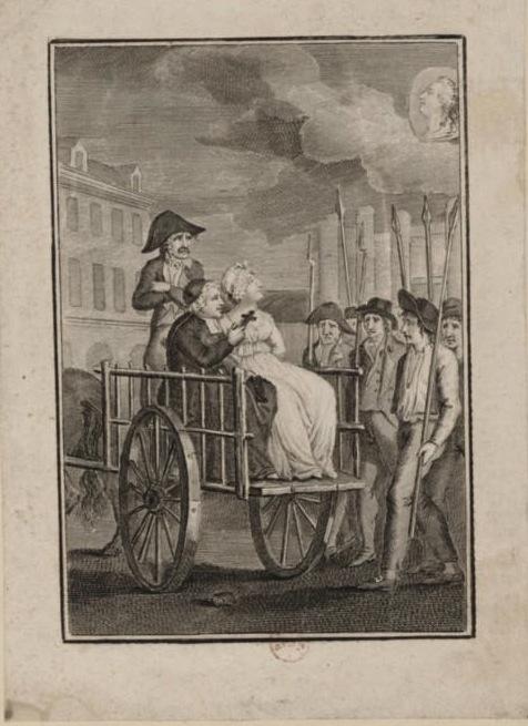 Marie Antoinette  conduite au supplice - Page 3 Echafa10