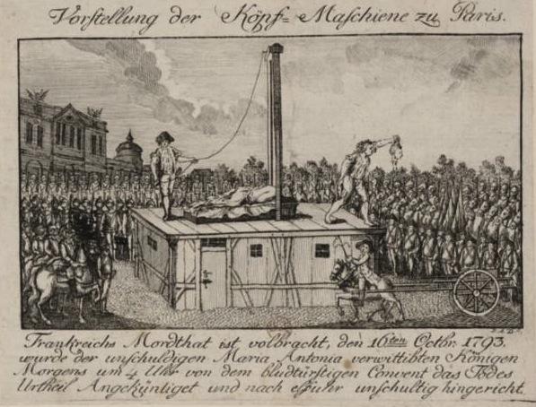 Marie Antoinette  conduite au supplice - Page 3 Execut10
