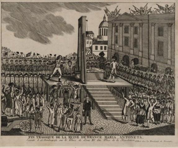 Marie Antoinette  conduite au supplice - Page 3 Execut11