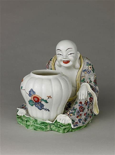 Ecritoires et chinoiseries du XVIIIe siècle Magot_10