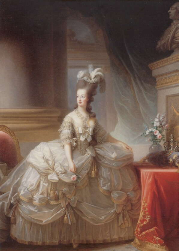 Le premier portrait de Marie Antoinette peint par Vigée Lebrun? - Page 2 Marie110