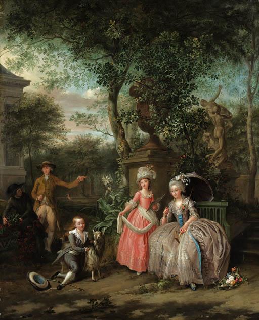 Portraits de Marie Antoinette avec ses enfants Nicola10