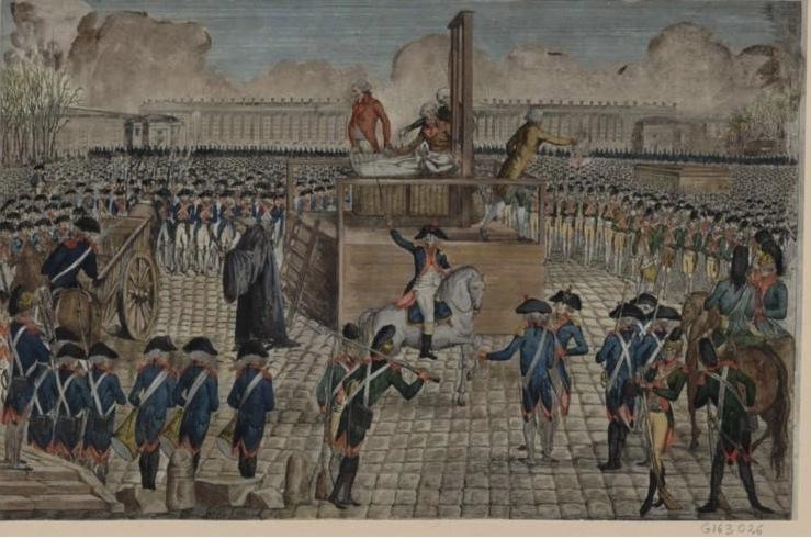 16 octobre - L'exécution de Marie-Antoinette le 16 octobre 1793 Reques31
