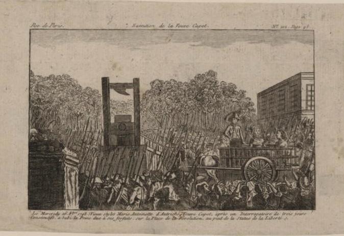 Marie Antoinette  conduite au supplice - Page 3 Reques32