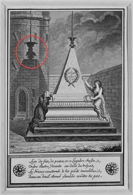 Portraits cachés de Marie-Antoinette et Louis XVI ou images séditieuses  Siditi11