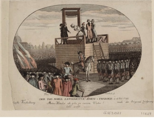 Marie Antoinette  conduite au supplice - Page 3 Tod_ma10