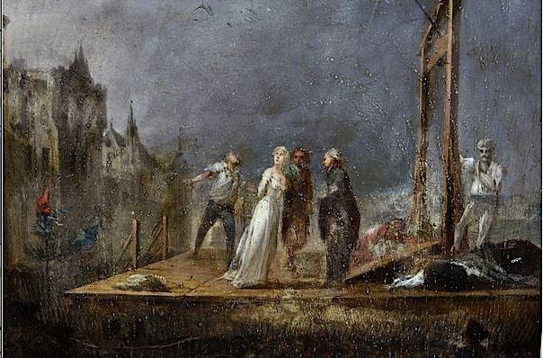 Marie Antoinette  conduite au supplice - Page 3 Unknow26