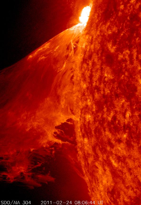 Suivi de la mission SDO (Solar Dynamics Observatory) 20110210
