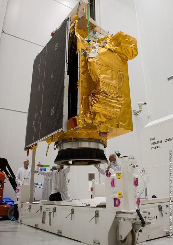Ariane 5 ECA V195 : Arabsat 5A + COMS 1 (26/06/2010) 678-1-10