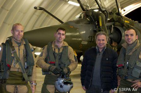 Mardi 23 mars sur FR2 En vol avec l'armée de l'air ( reportage sur le tir d'une ariane 5) _img2_10