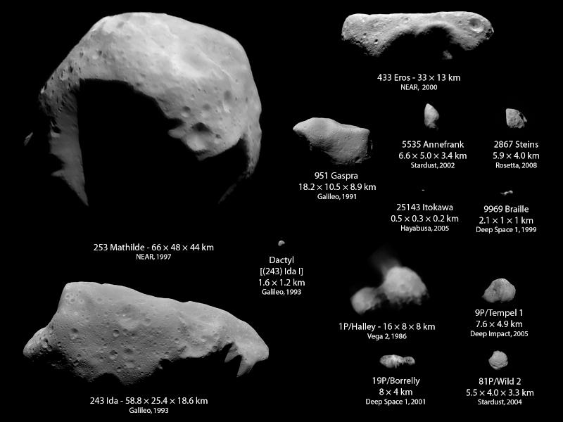 Rosetta : survol de l'astéroïde Lutetia Astero10