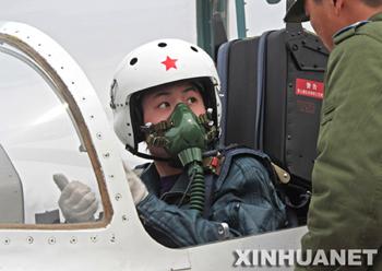 Les futurs astronautes chinois. F2009011