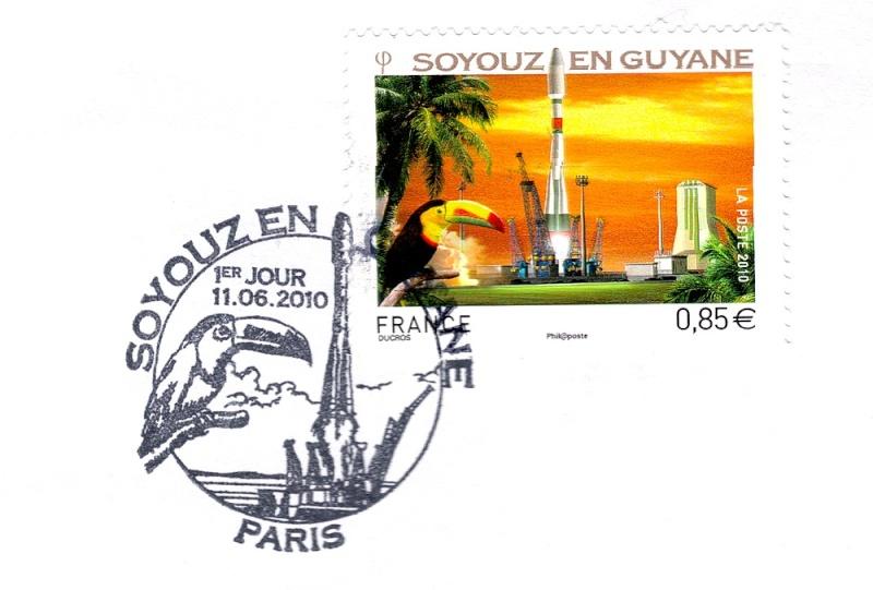 Un timbre pour Soyouz en Guyane - Page 2 Soyouz11