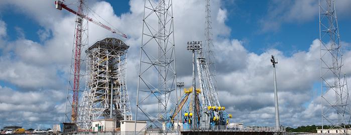 Etat d'avancement du chantier Soyouz en Guyane (Sinnamary) - Page 23 Soyuz-10