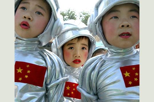 Les futurs astronautes chinois. Taikon10