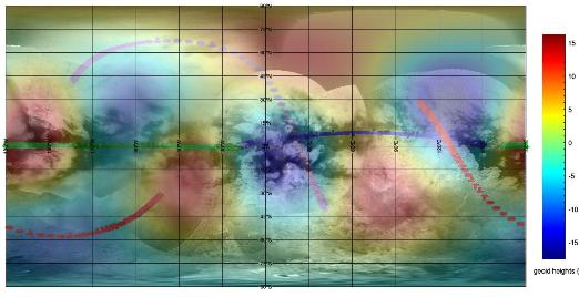 Survol de Titan (Cassini) Titang10