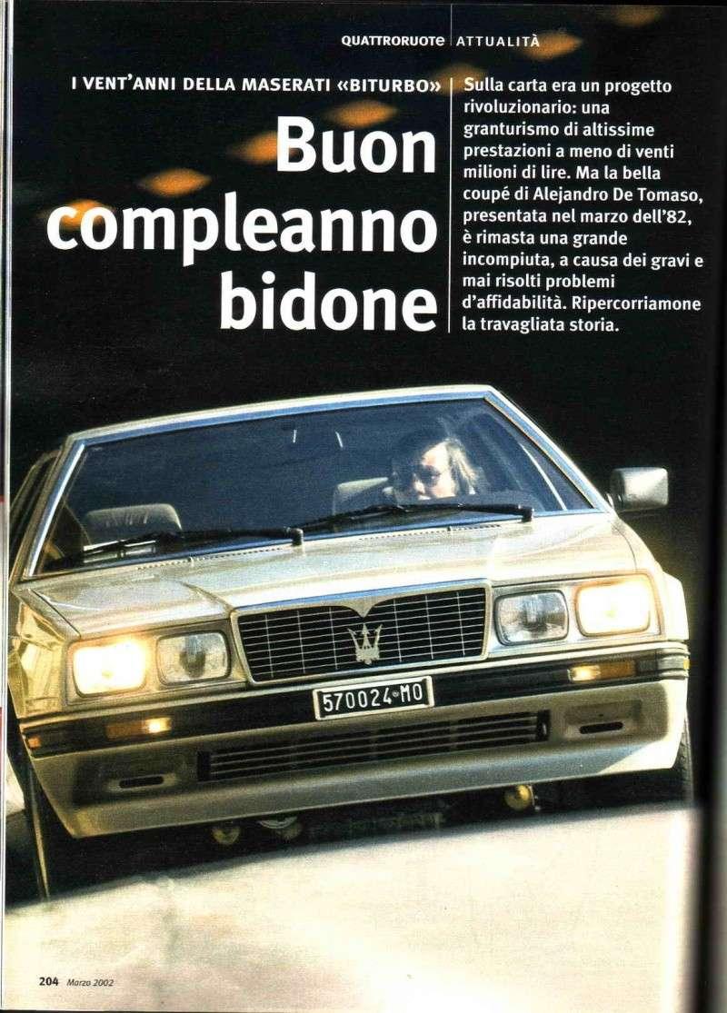"""BUON COMPLEANNO BITURBO: il mio """"Bidone"""" ha compiuto 200.000 km senza problemi - Pagina 2 Biturb10"""