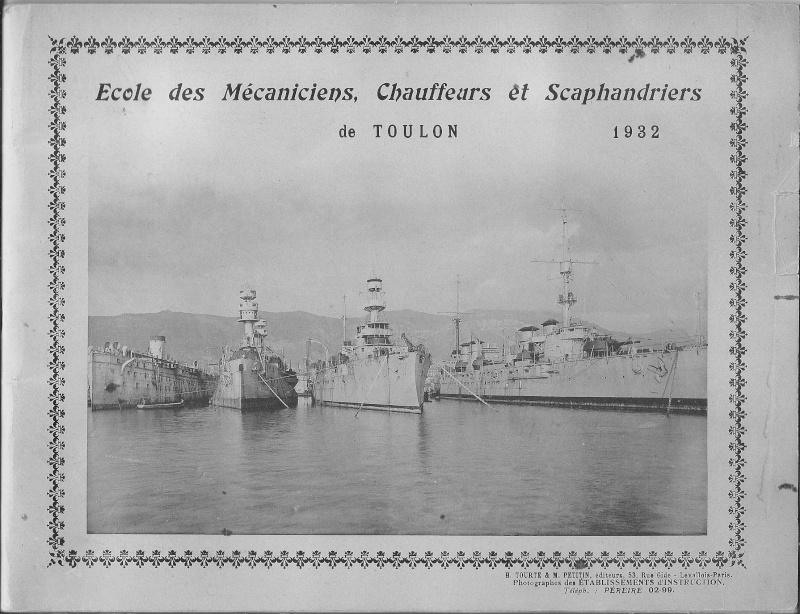 La flotte française à Toulon (83) avant guerre - Page 2 Couver10