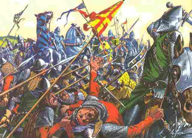[Multijoueurs] La mort du roi fol (14 février 1410 à Surville) Combat10