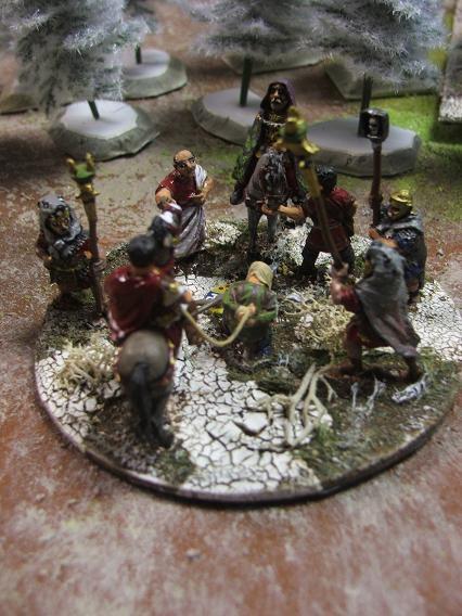 Marc Aurèle lors de la bataille de Vindobonna (180 de notre ère) Dscf5045