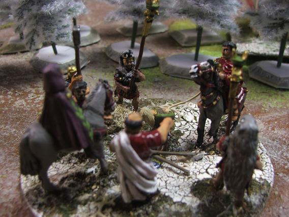 Marc Aurèle lors de la bataille de Vindobonna (180 de notre ère) Dscf5046