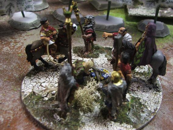 Marc Aurèle lors de la bataille de Vindobonna (180 de notre ère) Dscf5047