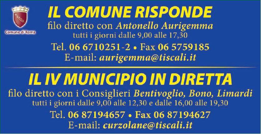 Indirizzi e numeri utili del IV Municipio Il_com10