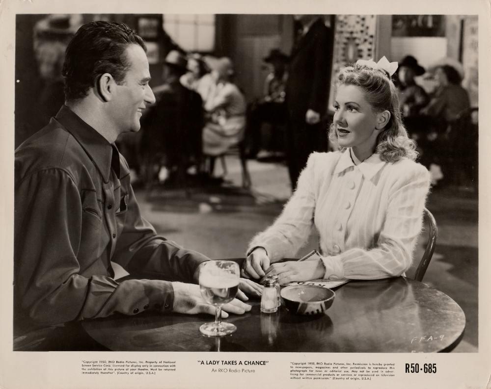 La Fille et son Cowboy - A Lady Takes A Chance - 1943 A_duk163
