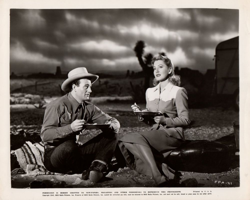 La Fille et son Cowboy - A Lady Takes A Chance - 1943 A_duk306