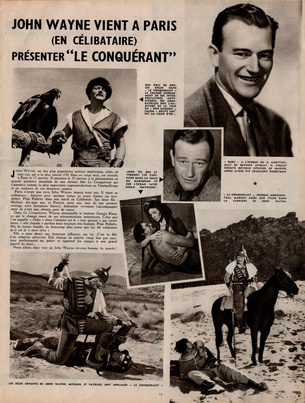 Le Conquérant - The Conqueror - 1956 Cinamo10
