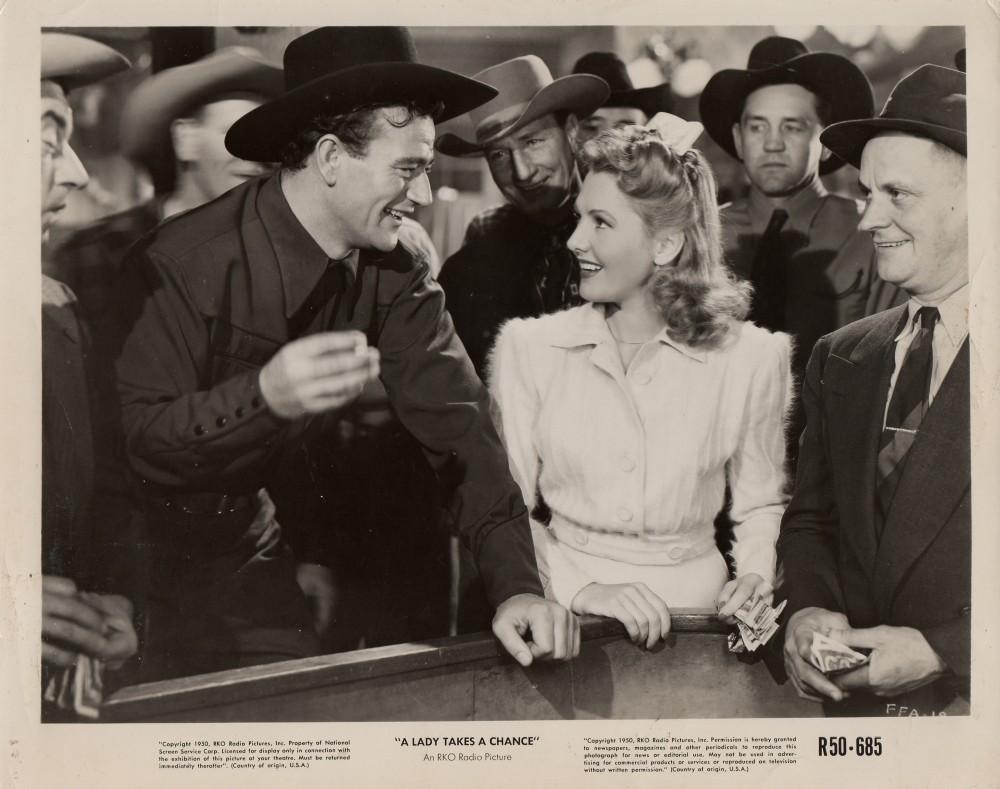 La Fille et son Cowboy - A Lady Takes A Chance - 1943 Duke_178