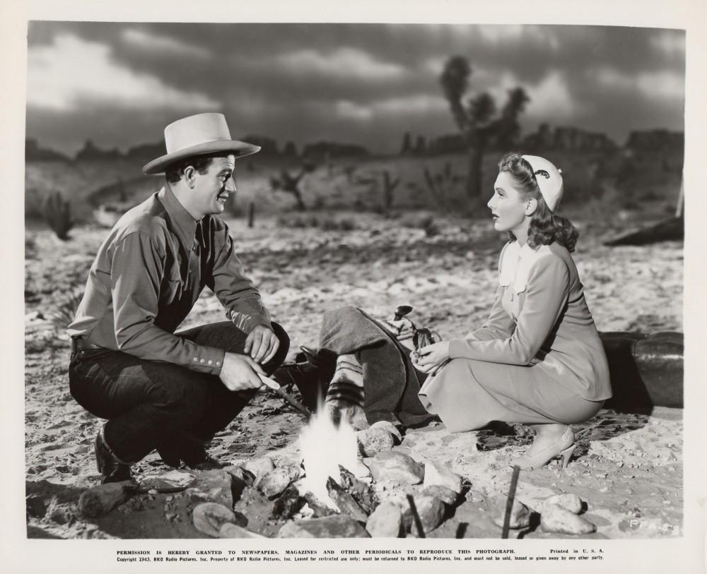 La Fille et son Cowboy - A Lady Takes A Chance - 1943 Duke_472
