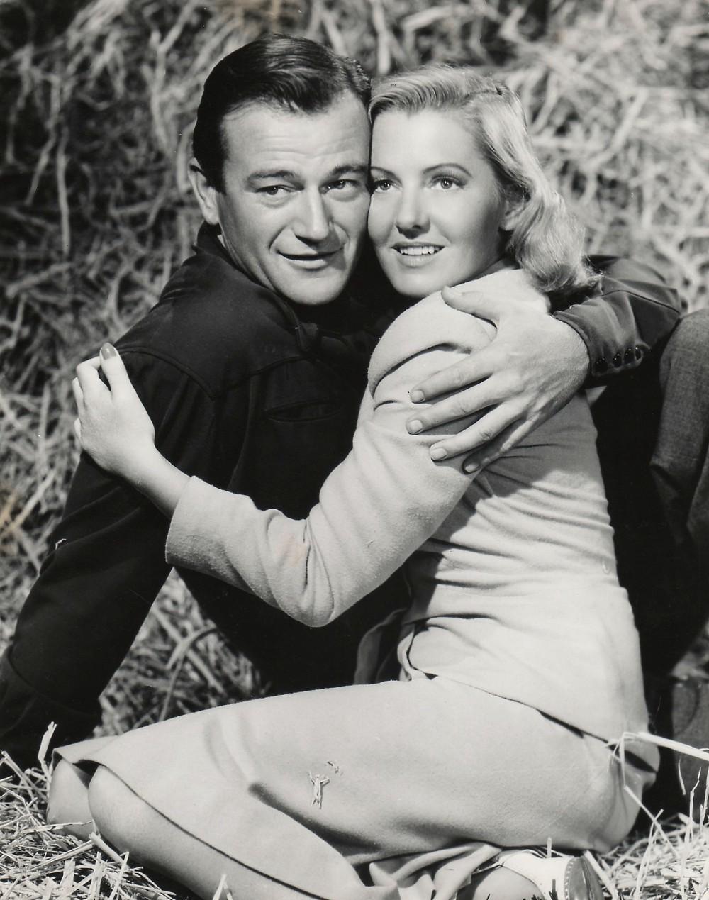 La Fille et son Cowboy - A Lady Takes A Chance - 1943 Duke_529
