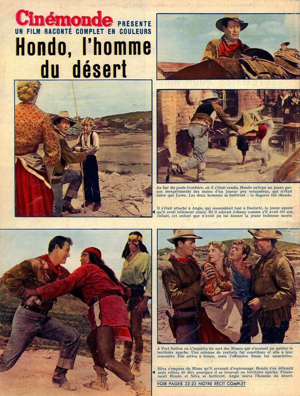 Hondo, l'Homme du Désert - Hondo - 1955 Fax_s100