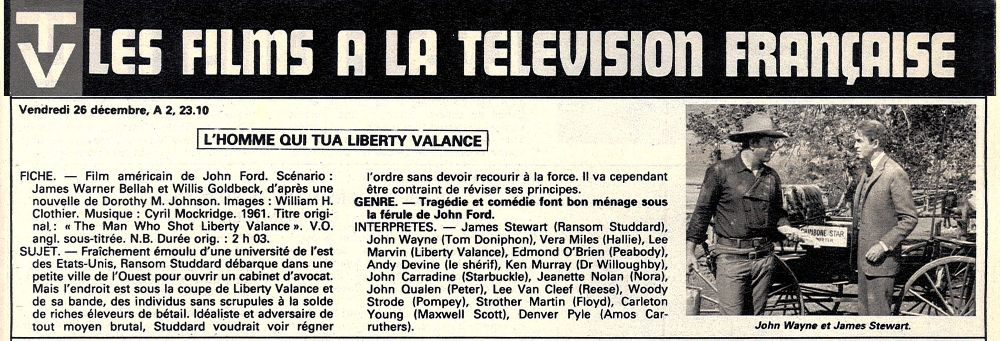 L'homme qui tua Liberty Valance-The Man Who Shot ... - 1962 - Page 2 Fax_s156