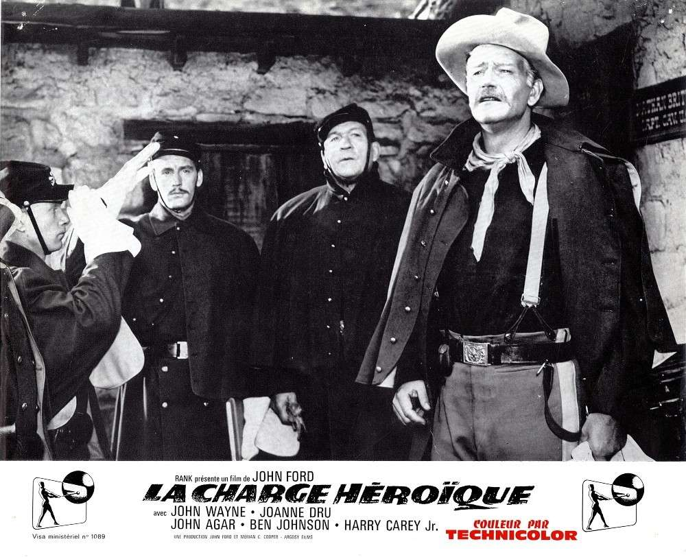 La charge héroique - She wore a yellow Ribbon - 1949 Fax_so75