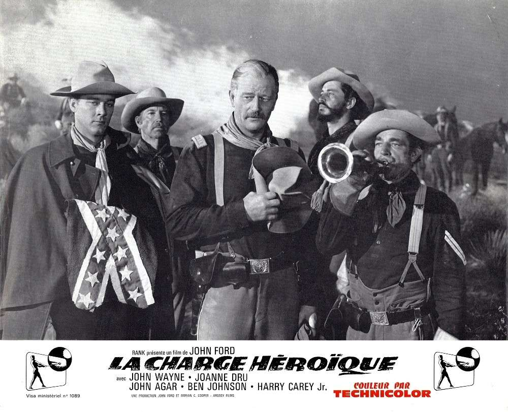 La charge héroique - She wore a yellow Ribbon - 1949 Fax_so76